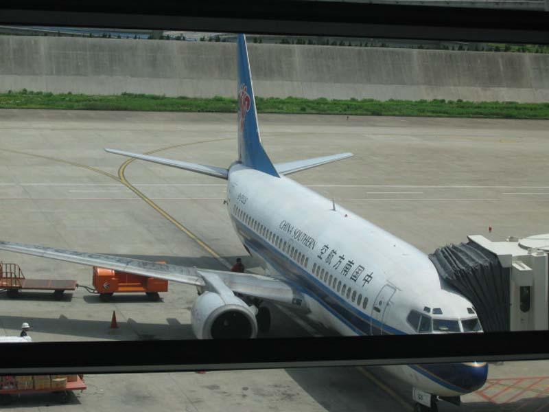 Re:[原创]5.1回成都游记    中国上海浦东机场