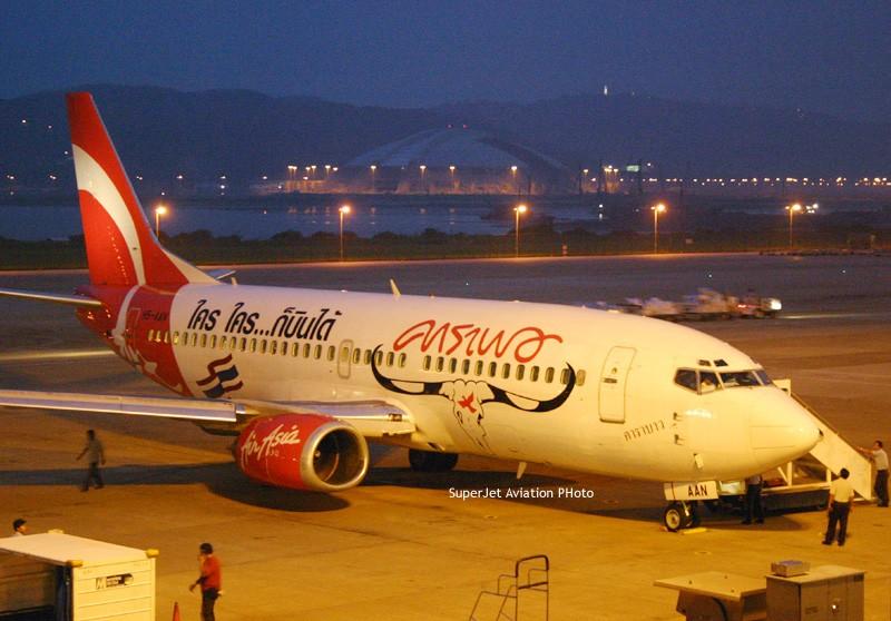 [原创]亞洲航空的八架彩繪機 BOEING 737-300 HS-AAN