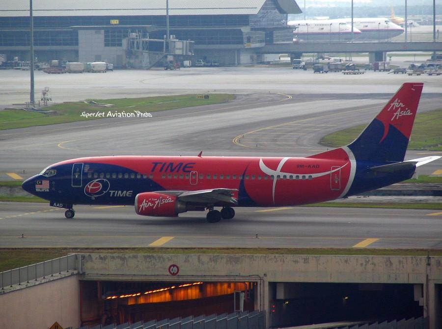 Re:[原创]亞洲航空的八架彩繪機 BOEING 737-300 HS-AAD
