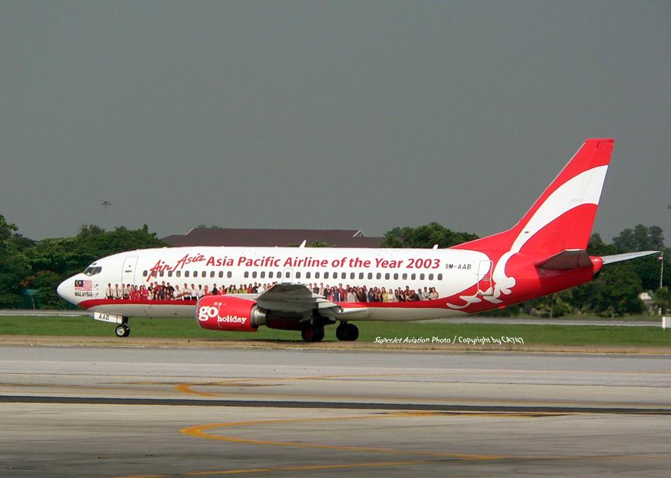 Re:[原创]亞洲航空的八架彩繪機 BOEING 737-300 9M-AAB