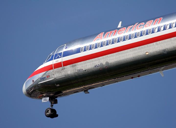 MD-80的大头 MCDONNELL DOUGLAS MD-80