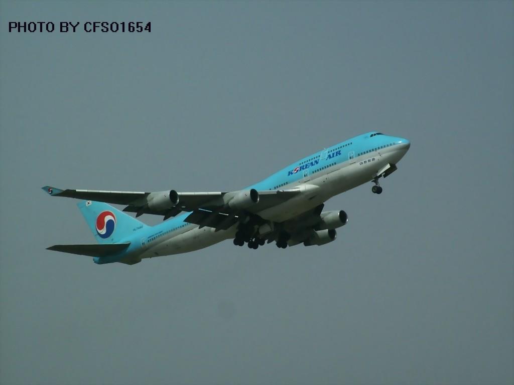 [原创]TAJ收获大韩744 BOEING 747-400 HL7480