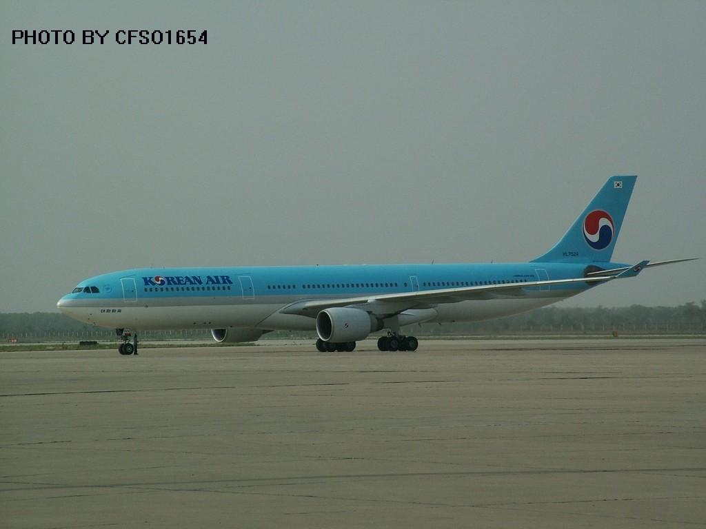 [原创]大韩国的330 AIRBUS A330 HL7524