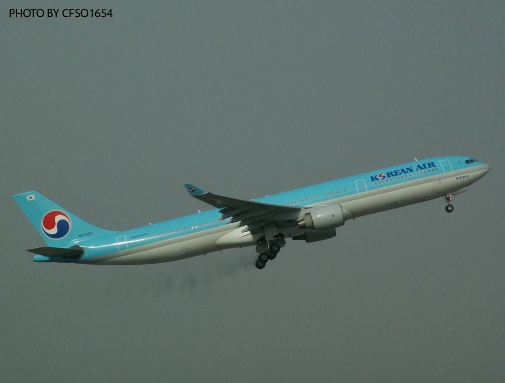 Re:[原创]大韩国的330 AIRBUS A330 HL7524