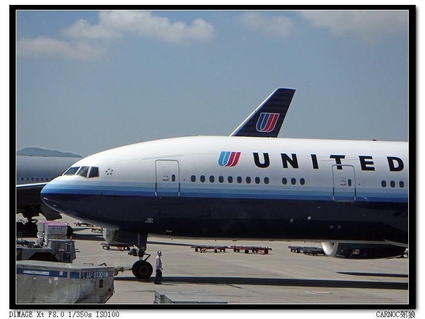 Re:[原创]汉城巧遇美联航新涂装777 BOEING 777-200 N221UA