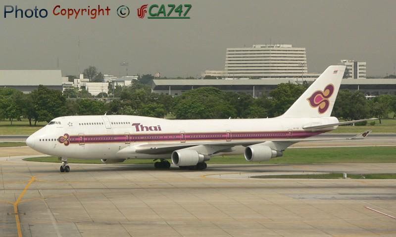 Re:[原创]发两架TG的744 BOEING 747-400 HS-TGF