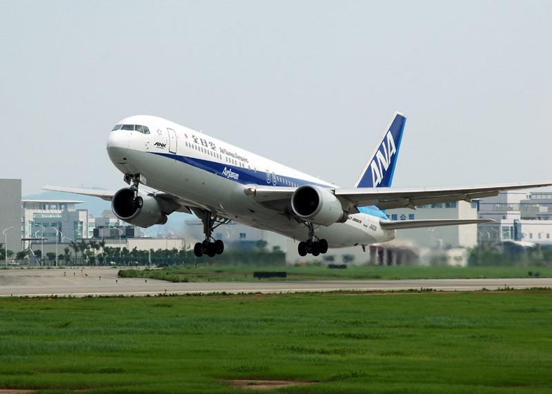 [原创]5。1拍飞机。广州篇 BOEING 767-200 JA603A