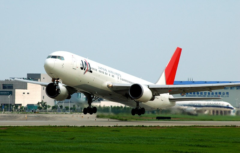 Re:[原创]5。1拍飞机。广州篇 BOEING 767-200 JA8976