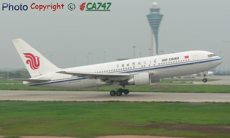 Re:[原创]十几张今天在广州拍的图,送给广州的飞机友 BOEING 767-200 B-2551