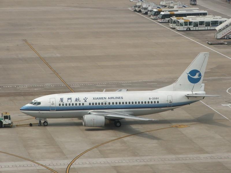 Re:[原创]送给亲爱的弯弯 BOEING 737-500 B-2591