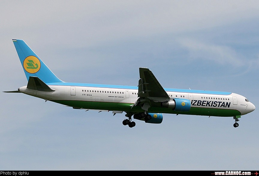 Re:[原创]鲜艳的乌兹别克767 BOEING 767-300