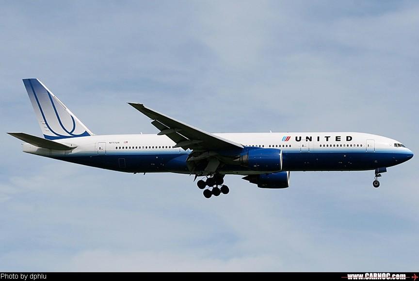 [原创]这架飞机配的注册号码好牛 BOEING 777-200 N777UA