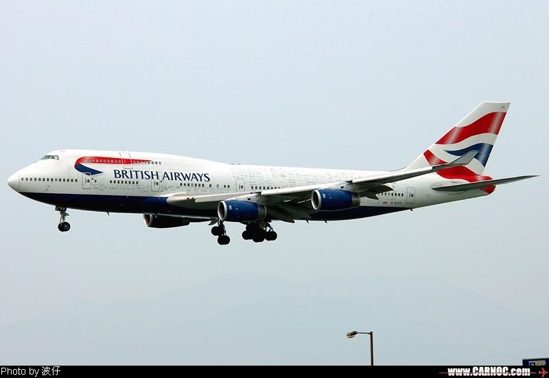 [原创]這架飛機有你的簽名嗎? BOEING 747-400 G-CIVY  中国香港赤喇角机场