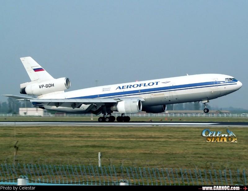 [原创]☻\;  9-11 闪灯、抬着头的DC-10 ☻\; MCDONNELL DOUGLAS DC-10-40 VP-BDH
