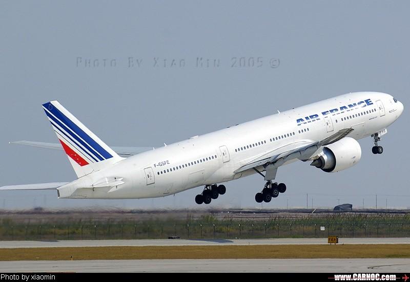 Re:浦东机场拍飞机的一个好地方 BOEING 777 f-GSPZ