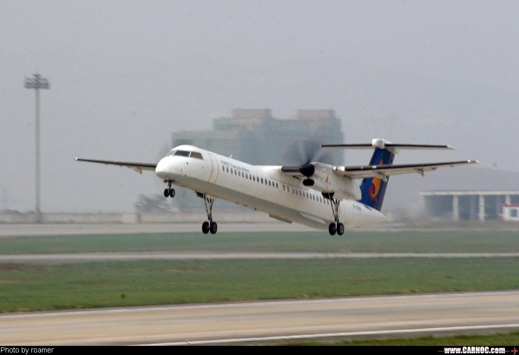 Re:贵阳机场的支线客机 DE HAVILLAN CANADA DHC-8-400 B-3569