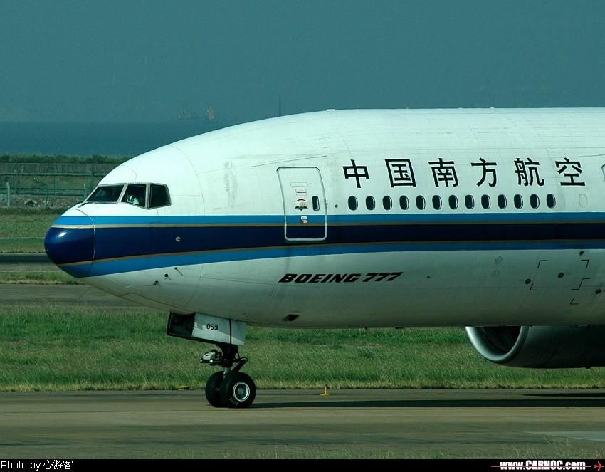 南航777(B-2053)上路了 BOEING 777 B-2053