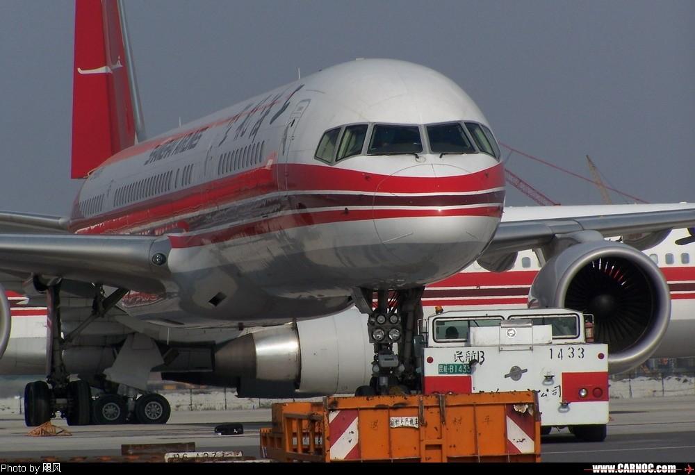 Re:今天又去PVG拍机了 BOEING 757