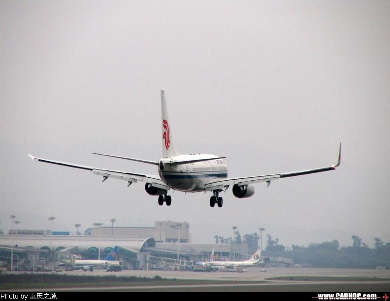 Re:昨天送朋友去江北机场,顺便拍了几张. BOEING 737-700