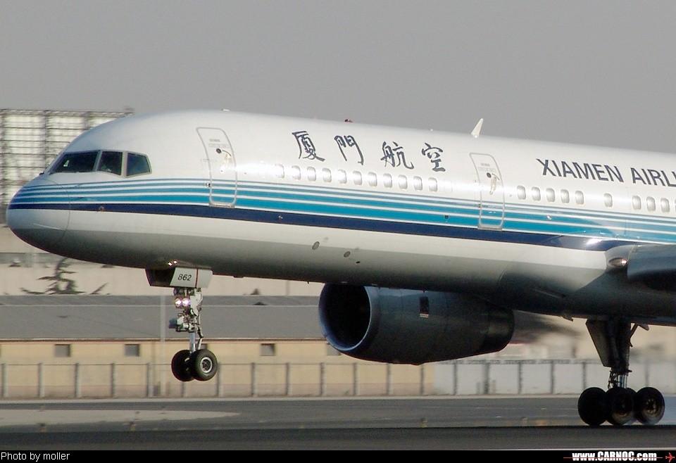 厦门航空B-2862 BOEING 757-200 B-2862