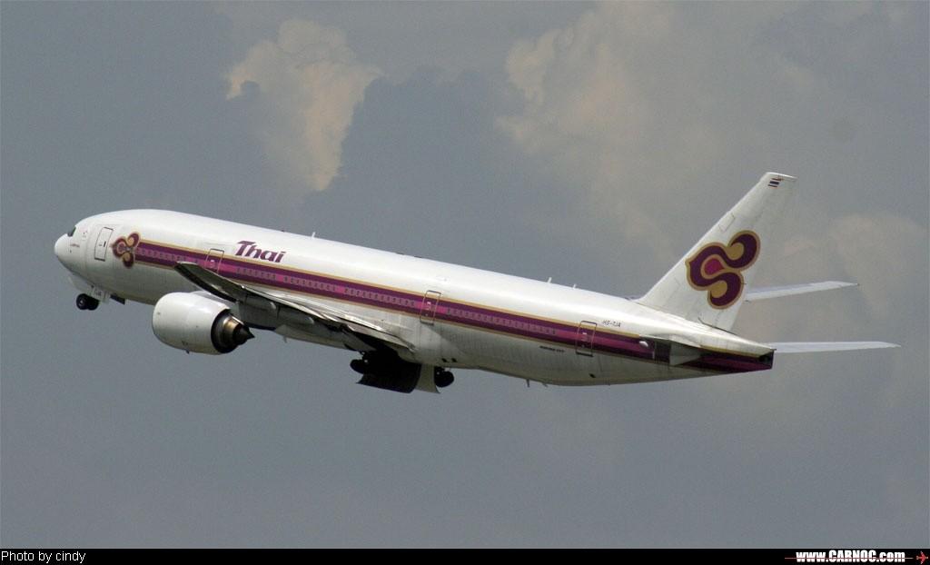 Re:腾空而起 BOEING 777 HS-TJA