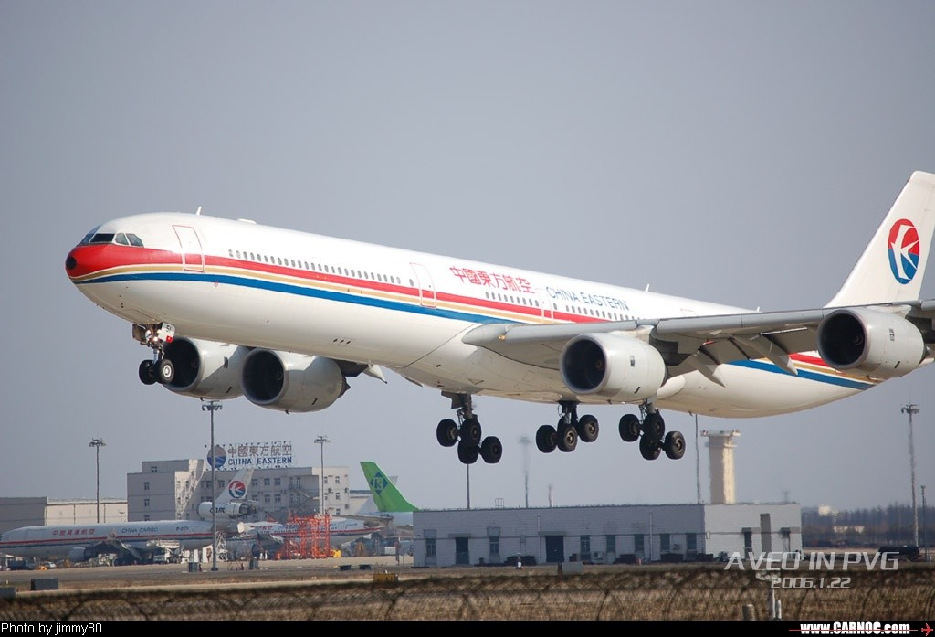 Re:冬日午后,狂扫PVG AIRBUS A340-600   中国上海浦东机场