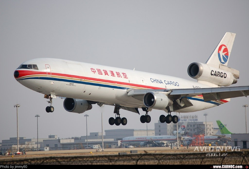 Re:冬日午后,狂扫PVG MCDONNELL DOUGLAS MD-11 B-2174  中国上海浦东机场