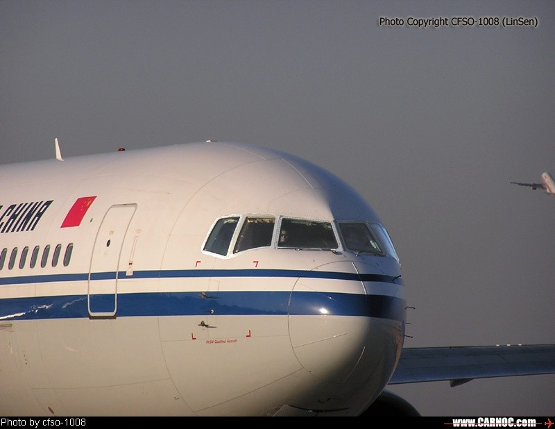 Re:CA911\,飞往温哥华,763执飞,猜飞飞是谁 BOEING 767-300 B-2493