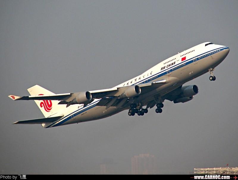 744上升幅度很猛  !! BOEING 747-400 B-2447