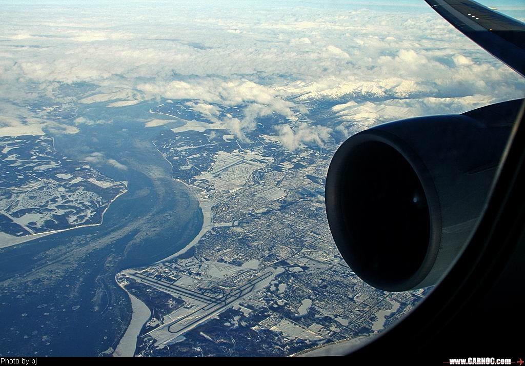[原创]飞越安克雷季(PANC) BOEING 767-300 B-2497  United States ANCHORAGE INTL