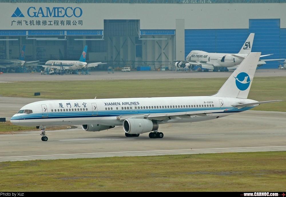 [原创]20日的作品 BOEING 757-200 B-2829  中国广州白云机场