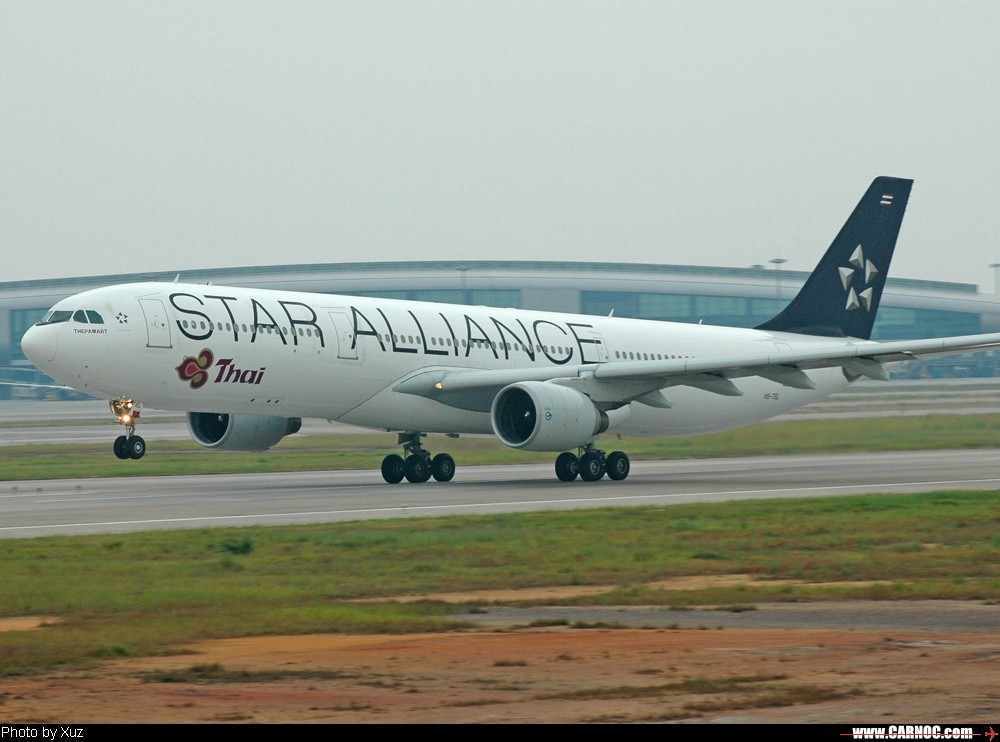 Re:[原创]20日的作品 AIRBUS A330-200 HS-TEL  中国广州白云机场