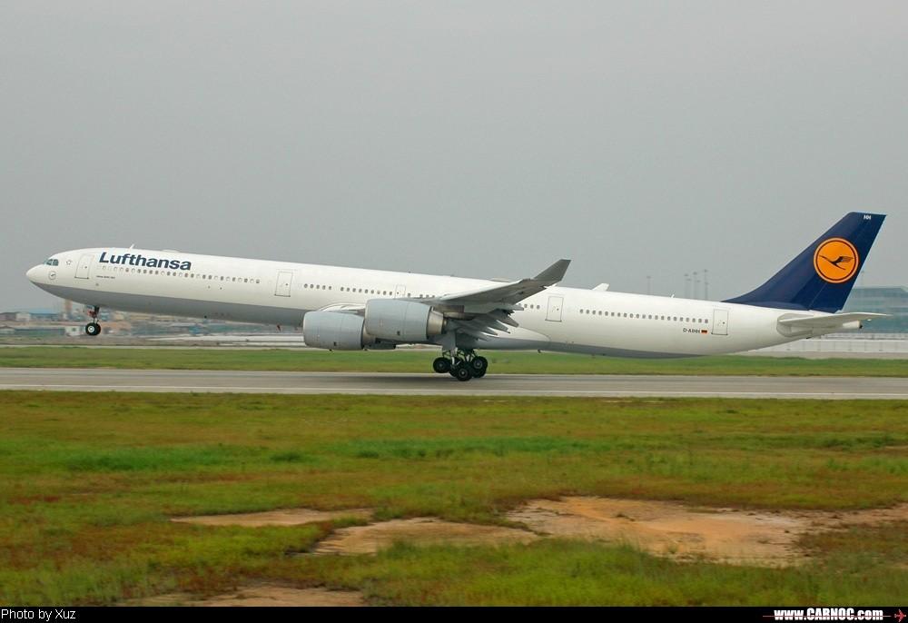 Re:[原创]20日的作品 AIRBUS A340-600 D-AIHH  中国广州白云机场