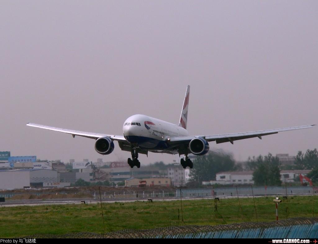 Re:[原创]今天冒酷暑奋战西跑道的收获之一~~~~~~~~~~~~~~ BOEING 777-200   中国北京首都机场
