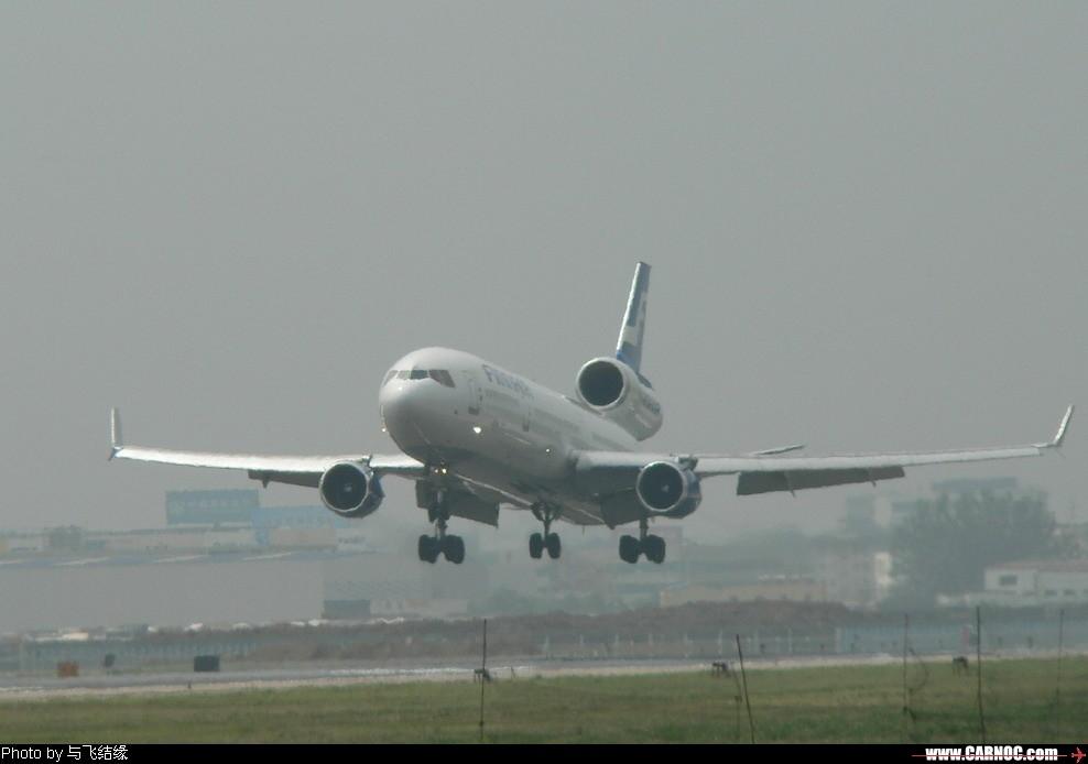[原创]今天上午西跑道拍到的几个外航~~~~~~~~~~~~ MCDONNELL DOUGLAS MD-11   中国北京首都机场