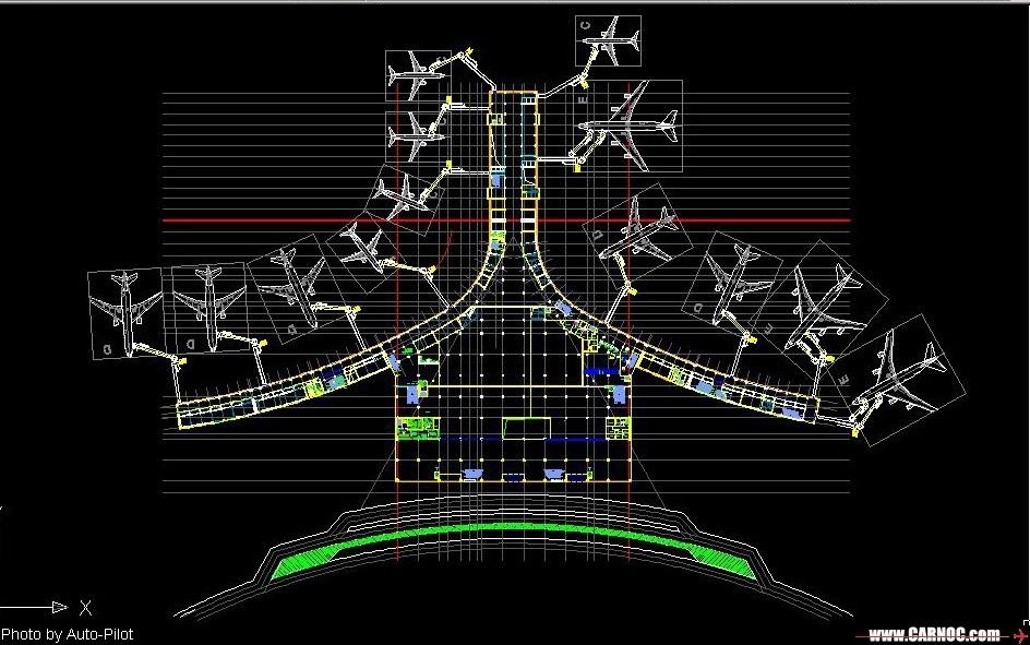 [原创]天津滨海国际机场扩建图