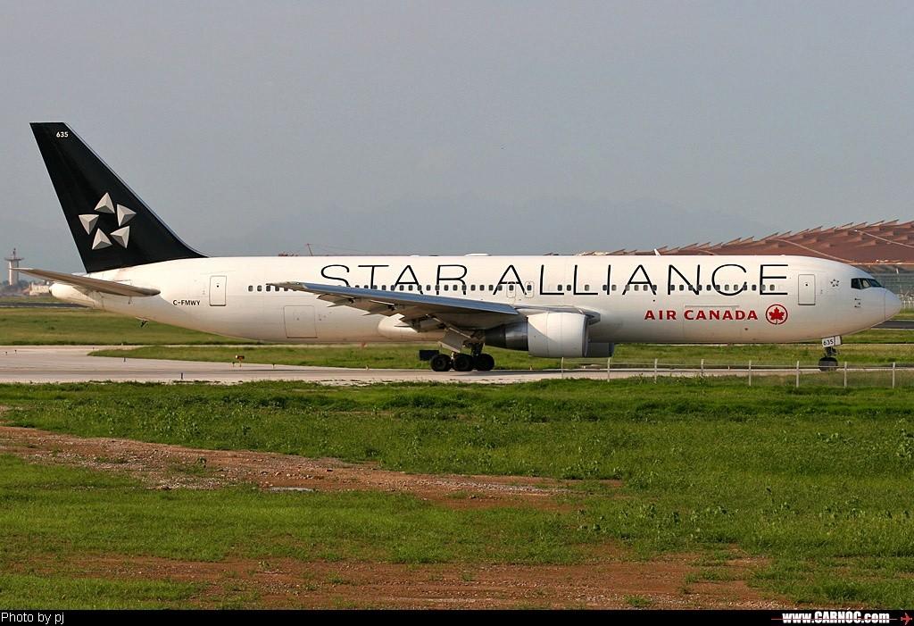 [原创]星空联盟--欢迎大家跟帖 BOEING 767-300 C-FMWY  中国北京首都机场
