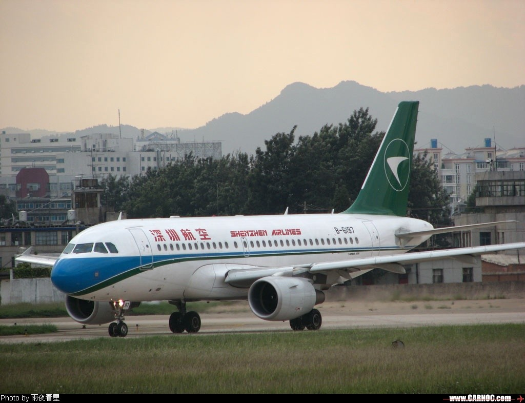 Re:[原创]昆明机场晴转大雨 AIRBUS A319-100 B-6197
