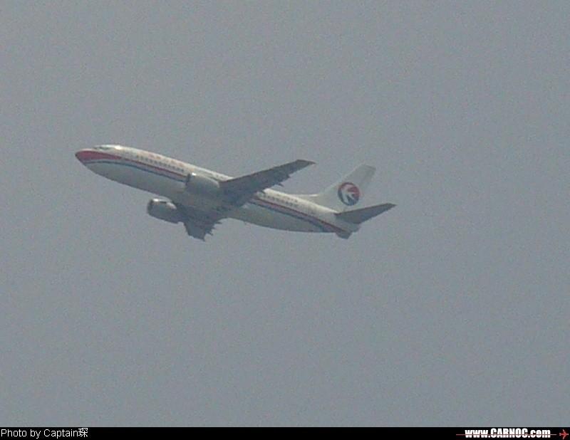 我家楼顶拍飞机!(第一次发图,请多多包涵!) BOEING 737