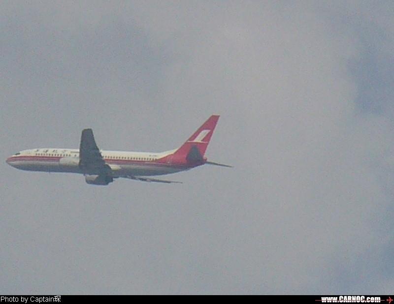 Re:我家楼顶拍飞机!(第一次发图,请多多包涵!) BOEING 737