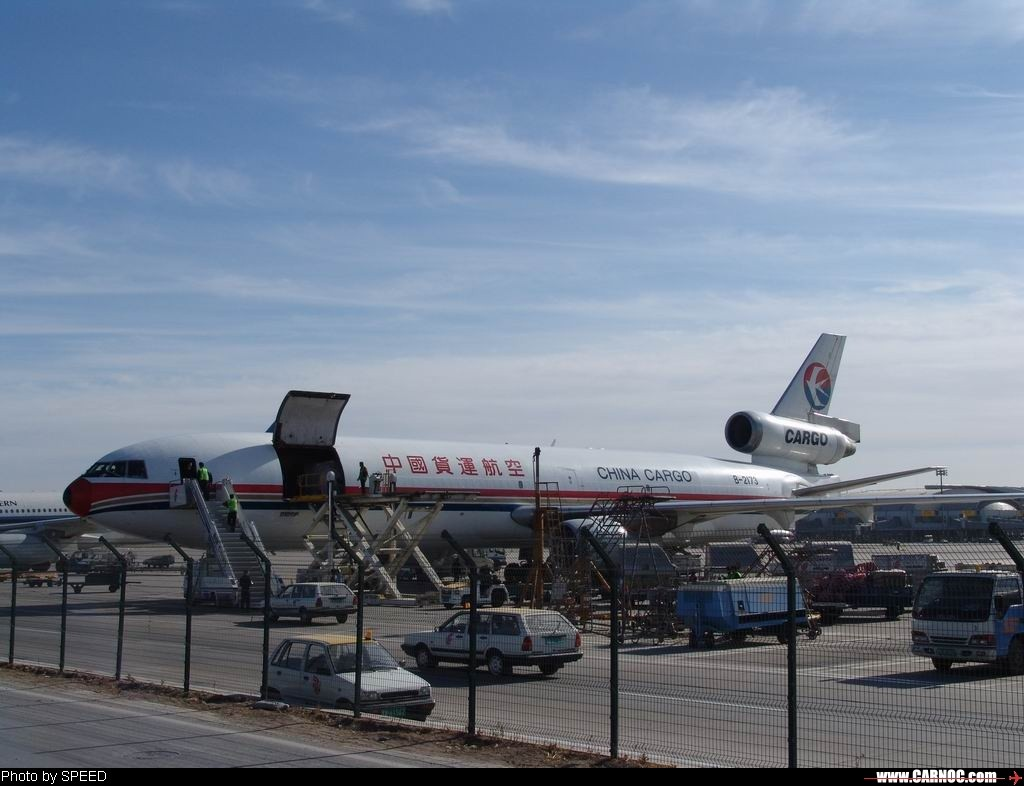 Re:[原创]中国货运航空的MD-11 MCDONNELL DOUGLAS MD-11 B-2173