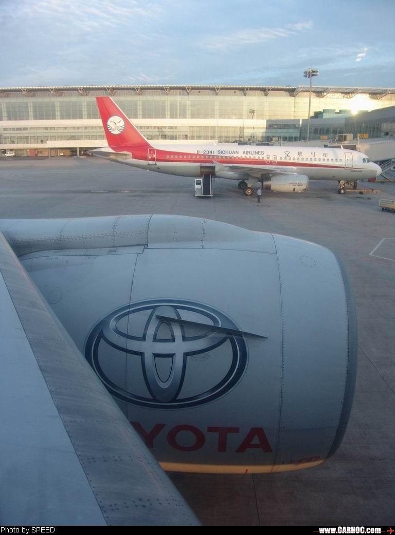 Re:[原创]幸运!空中拍的凯美瑞 BOEING 777-200 B-2051