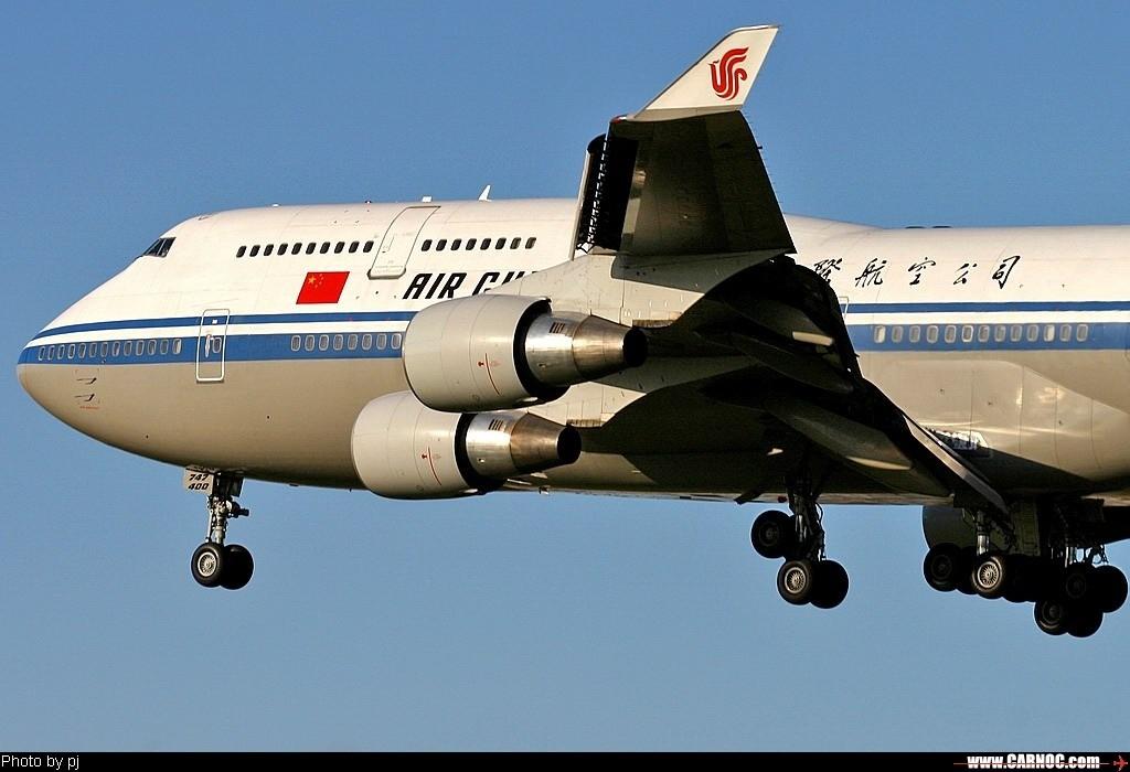 Re:[原创]……国航B747专集…… BOEING 747-400 B-2445  中国北京首都机场