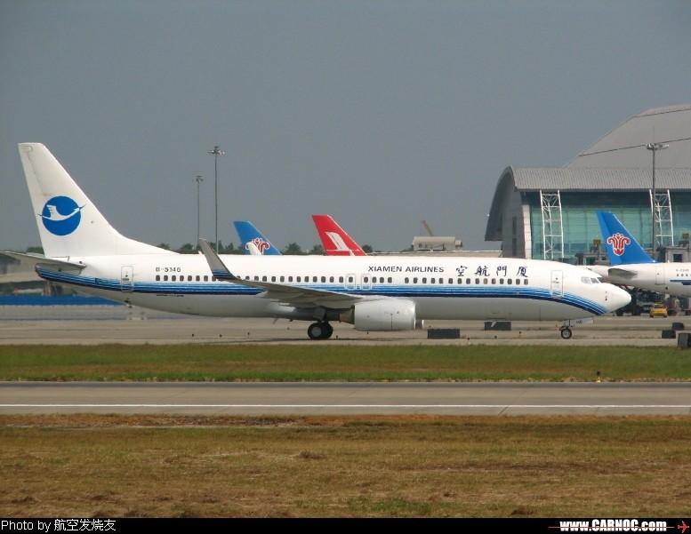[原创]新白云少见——厦门航空B-5146新装小翼!    中国广州白云机场