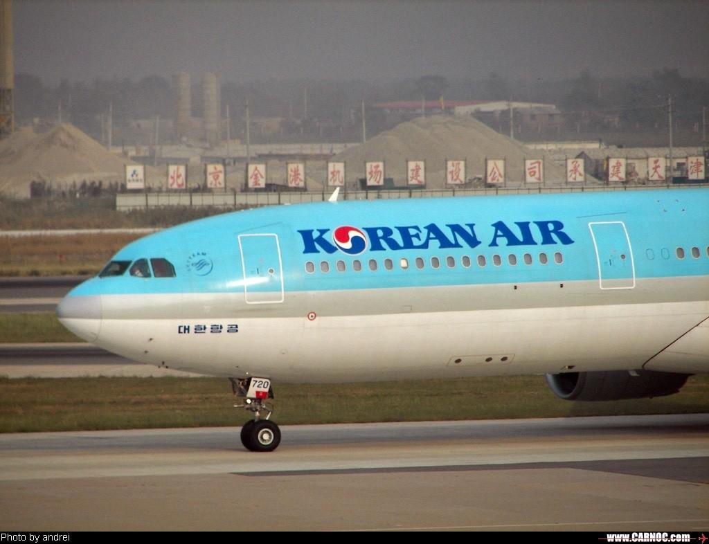 干净的飞机,阴霾的天气 AIRBUS A330-300