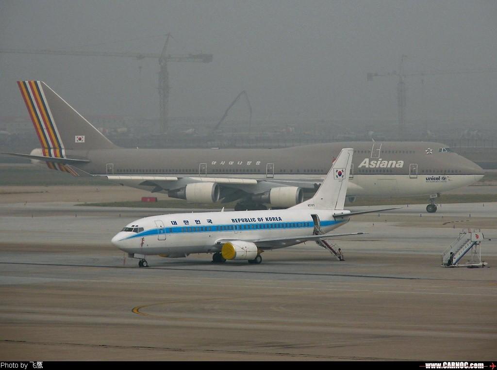 Re:[原创]<<<<<韩国空军737---一号首脑座机~~~会发现非同一般的装置>>>>> BOEING 737-300 85101