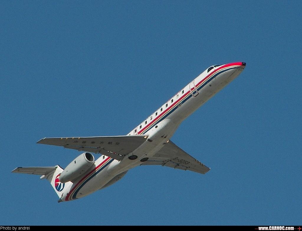 在天津首次拍到ERJ-145 EMBRAER ERJ-145