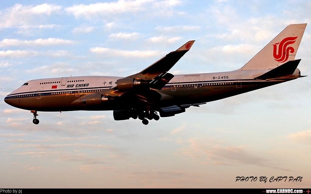 Re:[原创]……国航B747专集…… BOEING 747-400 B-2456  中国北京首都机场