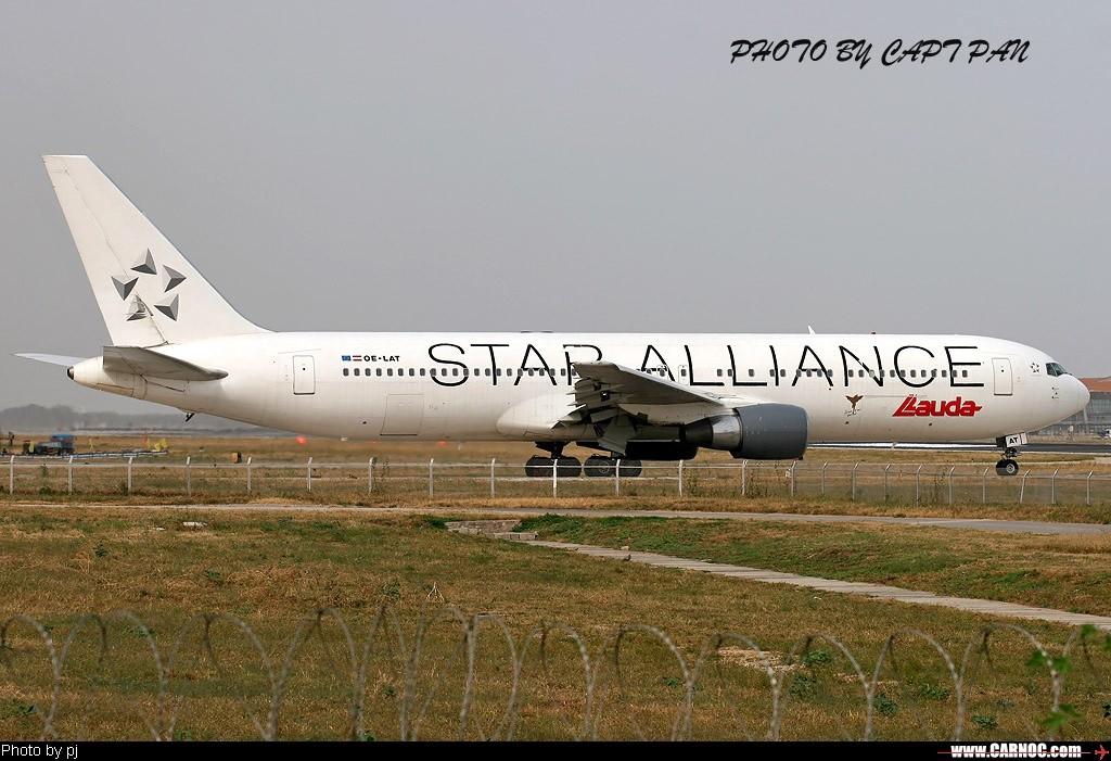 Re:[原创]星空联盟--欢迎大家跟帖 BOEING 767-300 OE-LAT  中国北京首都机场