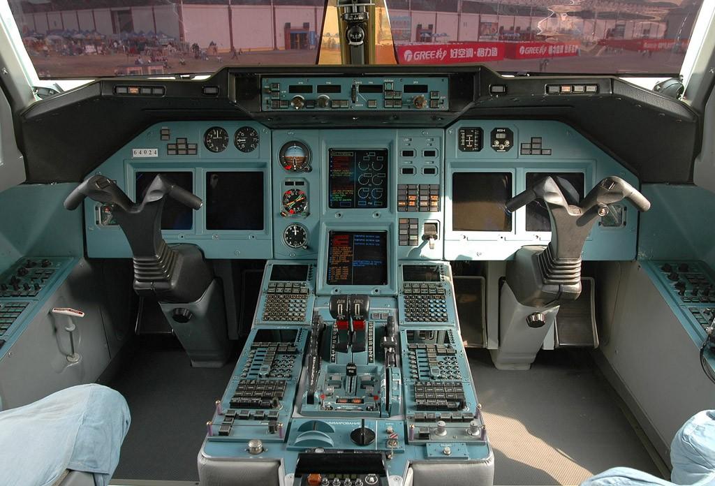 Re:[原创][珠海航展]驾驶舱图